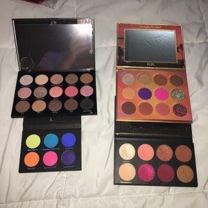 Eyeshadow Palette Bundle Morphe PUR ACE Beaute